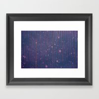 Pin Space Framed Art Print