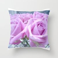 Popillo Roses 02 Throw Pillow