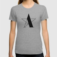 A-star Womens Fitted Tee Athletic Grey SMALL