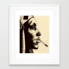 Tricky in Ink Framed Art Print
