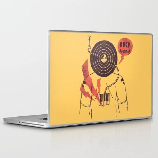 The Vinyl Frontier (alternate) Laptop & iPad Skin