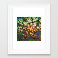 Mirrilicent Garden Framed Art Print