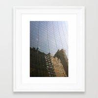Surreal City Framed Art Print