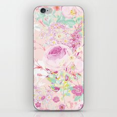 Flower bouquet in pink iPhone & iPod Skin