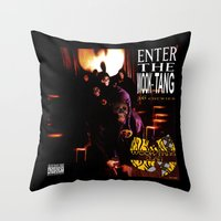 Enter the Wook Tang (36 Chewies) Throw Pillow