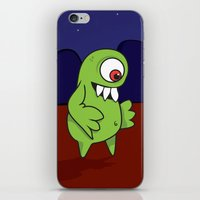 Space Character iPhone & iPod Skin