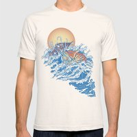 The Lost Adventures Of C… Mens Fitted Tee Natural SMALL