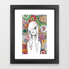 Colorful Mind Framed Art Print