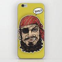 Yarg Pirate! iPhone & iPod Skin