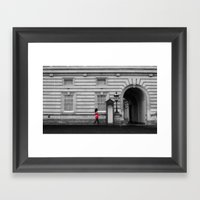 Royal Guard. Framed Art Print