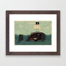 Whaleboat Framed Art Print