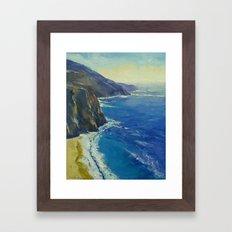 Big Sur California Framed Art Print