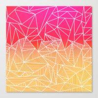 Bindi Rays Canvas Print