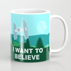 I WANT TO BELIEVE - Star Wars Mug