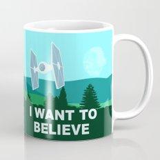 I WANT TO BELIEVE - Star… Mug