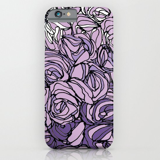 String Bouquet - Lavender iPhone & iPod Case