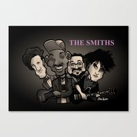 The Smiths (black version) Canvas Print