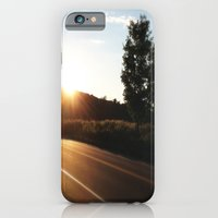 iPhone & iPod Case featuring The Road Home by Elina Cate