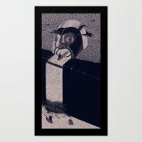 'Fall' (Extended) Art Print