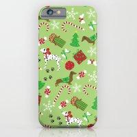 Christmas Pups iPhone 6 Slim Case