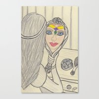 Prismatic Reflection Canvas Print