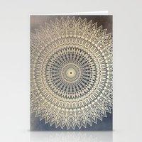 DESERT SUN MANDALA Stationery Cards