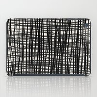 Painted_Plaid iPad Case