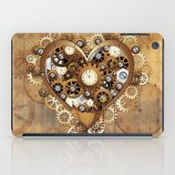Steampunk Heart Love iPad Case