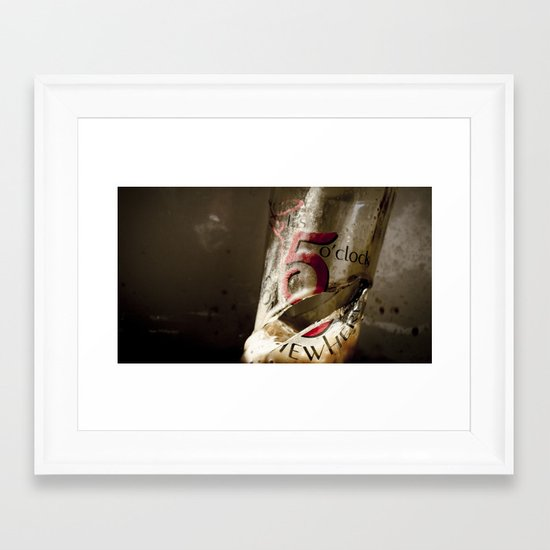 Drinking Problem Framed Art Print