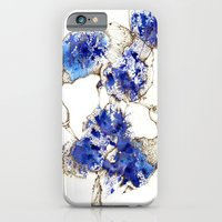 Oiseaux Bleu iPhone 6 Slim Case