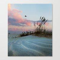 Sand And Sky Canvas Print