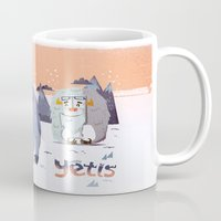 :::Happy Yetis::: Mug