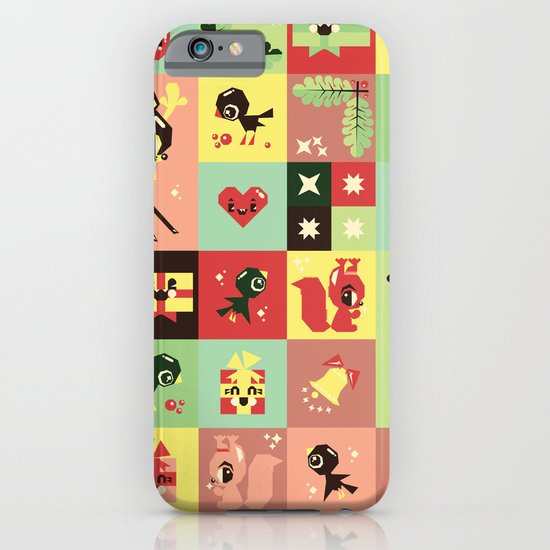 Christmas Geometric Pattern No. 2. iPhone & iPod Case