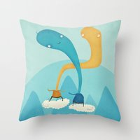 We Were Made For This  Throw Pillow
