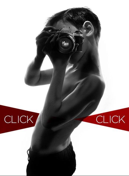 Click click Canvas Print