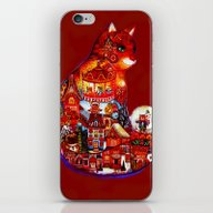 Christmas Cat 2016 iPhone & iPod Skin