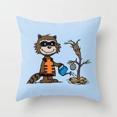 Groot Grief! Throw Pillow