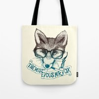 The Mischievous Mr. Fox Tote Bag