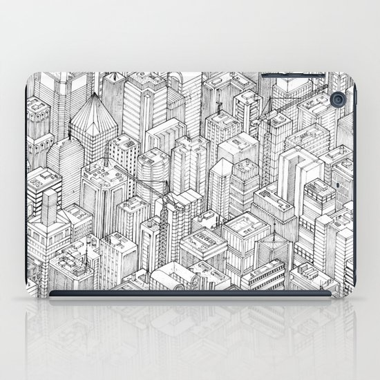 Isometric Urbanism pt.1 iPad Case