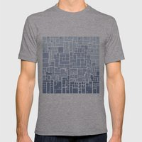 city planning Mens Fitted Tee Athletic Grey SMALL