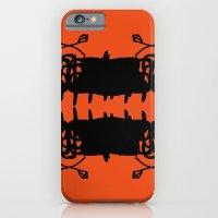 Orange AbstractArtwork iPhone 6 Slim Case