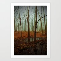 Do We Dare Go Into The Woods Art Print
