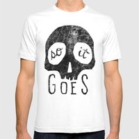 So It Goes Mens Fitted Tee White SMALL