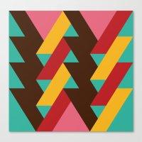 Ribbon Pattern 2 Canvas Print
