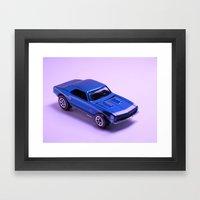 Hot Wheels Framed Art Print
