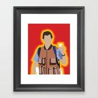 Bobby Boucher: Waterboy Framed Art Print