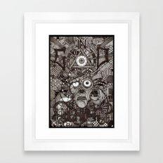 In God We Rust  Framed Art Print