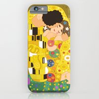 The Kiss (Lovers) by Gustav Klimt  iPhone 6 Slim Case