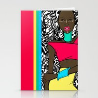 Colors of Africa Stationery Cards