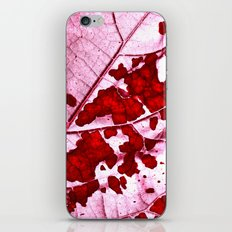 leaf structure abstract XII iPhone & iPod Skin